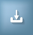 download arrow vector image vector image