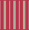 folklore stripes with periwinkle seamless vector image vector image
