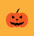 halloween pumpkin sign 109 vector image