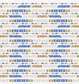 hand drawn ethnic patterns stripes seamless vector image