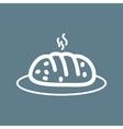 Hot Bread vector image vector image