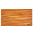 realistic wooden texture background isolated vector image
