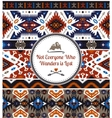 Seamless bright pattern in aztec style vector image vector image