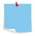 Sticky note7 vector image vector image
