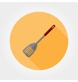 Kitchen shovel icon vector image