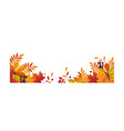 Autumn background with space for text banner with