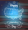 greeting card independence day collection design vector image vector image