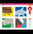 guess wild animals activity for children