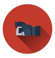 Icon of premium photo camera vector image