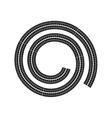 print wheel tire shape black icon graphic vector image vector image