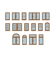 Windows Set vector image vector image