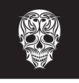 Abstract Scull vector image