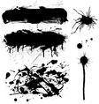 ink symbol set vector image