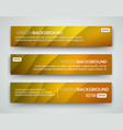abstract banners eps10 backgrounds vector image vector image
