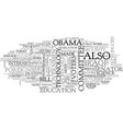 barack obama a political profile text word cloud vector image vector image