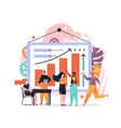 business team concept for web banner vector image