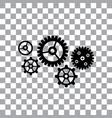 gear cog wheel symbol vector image vector image