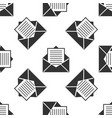 mail icon seamless pattern envelope symbol e-mail vector image vector image