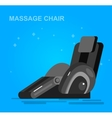 Massage chair detailed vector image
