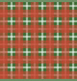 plaid tablecloth tartan seamless pattern vector image