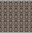 seamless texture with lace design vector image vector image