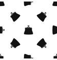 women wallet pattern seamless black vector image vector image