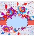 Abstract floral background EPS 8 vector image vector image