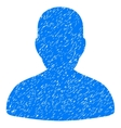 Avatar Grainy Texture Icon vector image vector image