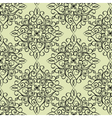 Classic style circular pattern vector image vector image