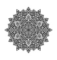 Mandala Decorative ornament element pattern Hand vector image vector image