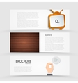 modern banners set on gray background vector image vector image