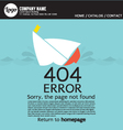 Page Not Found Error 404 vector image vector image