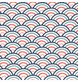seamless wavy doodle pattern with vector image