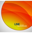 circle beautiful abstract pictures wave vector image vector image
