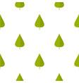 green poplar leaf pattern seamless vector image vector image