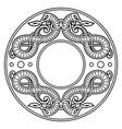 old norse design dragons in ancient scandinavian vector image vector image