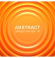 Orange rippled background vector image vector image