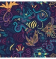 pattern flowers2 vector image
