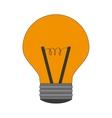regular lightbulb icon vector image vector image