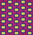 Sixties Retro Seamless Pattern vector image vector image