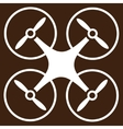 Copter icon from Business Bicolor Set vector image