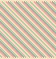 diagonal seamless striped pattern - retro vector image vector image