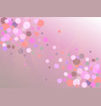 gradient background and sparkling stars vector image vector image