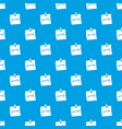 paper sheet with text qwerty pattern seamless blue vector image vector image