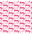 pattern background digital drawing board icon vector image