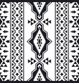 southwest american indian aztec navajo pattern vector image vector image