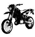 Aprilla bike vector image vector image