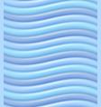 blue wavy lines vector image