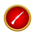 Machine gun icon in simple style vector image vector image