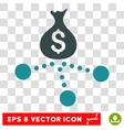 Money Distribution Icon vector image